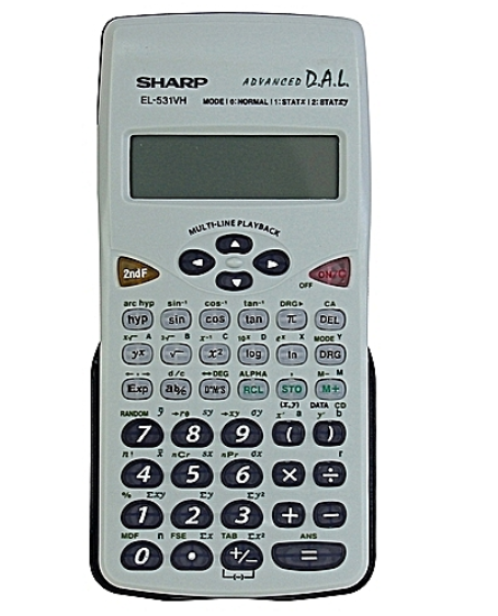 une calculette scientifique