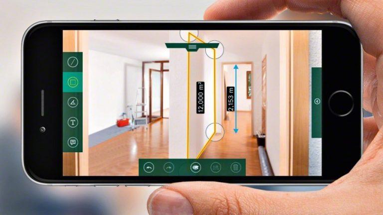 metre laser bosh connecté
